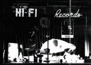 Rudi Pock's Hi-Fi - Front Window