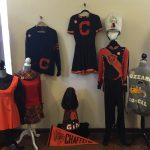 History Project Display - Uniforms and Letterman Jackets